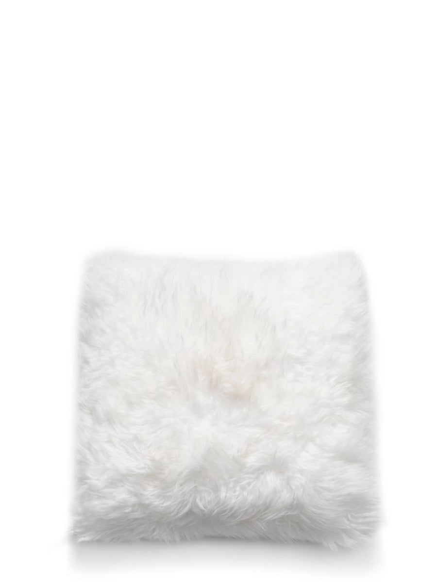 Natures Collection New Zealand Sheepskin Cushion Ivory - Cloudberry Living