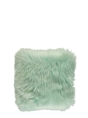 Natures Collection New Zealand Sheepskin Cushion Mint - Cloudberry Living