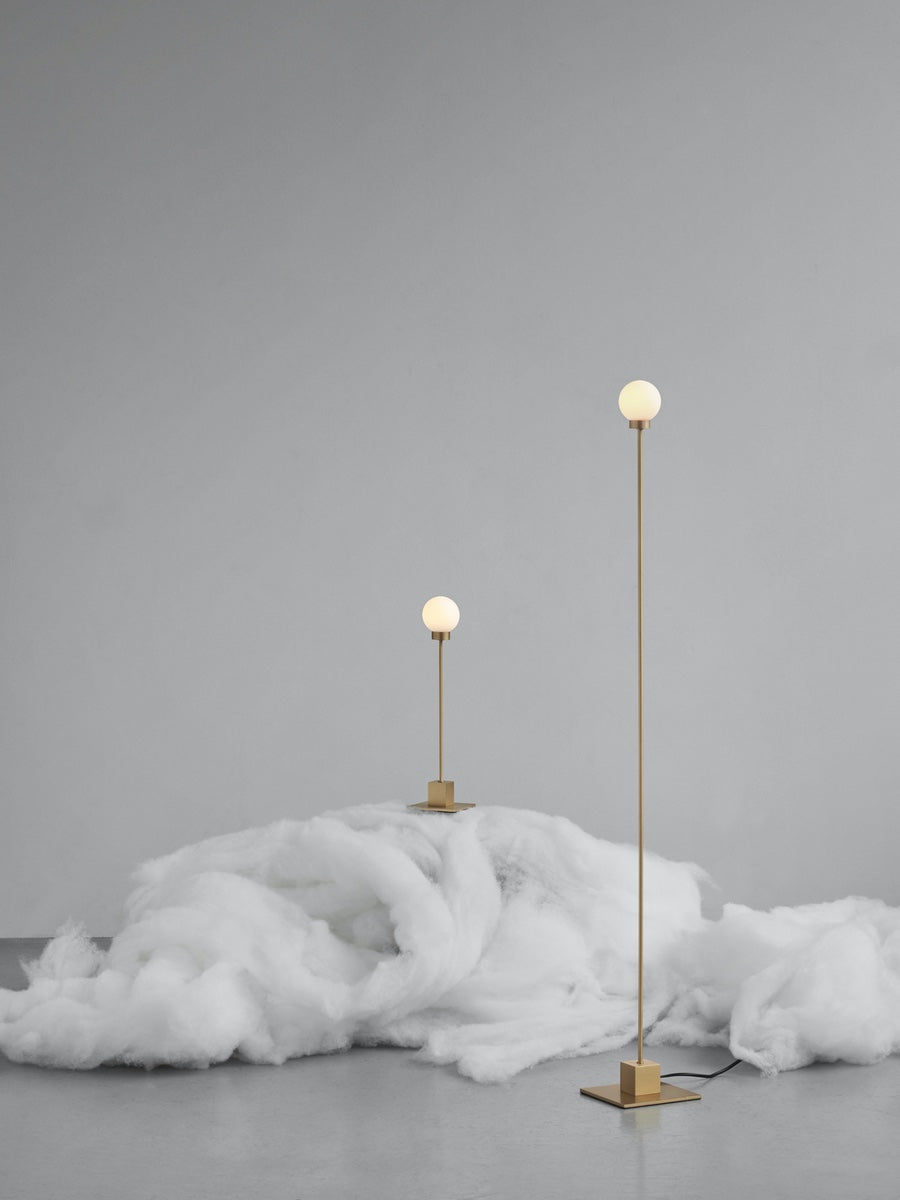 Northern Snowball Floor Lamp - Cloudberry Living
