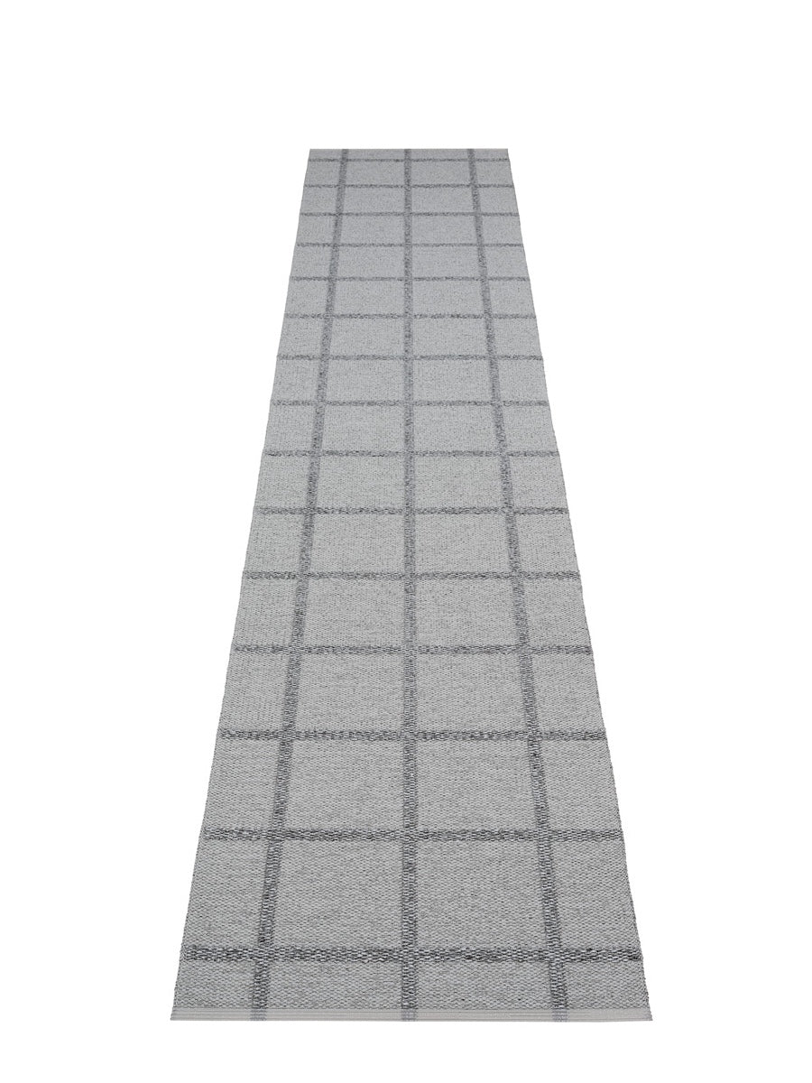 Pappelina Ada Grey Runner Rug - Cloudberry Living