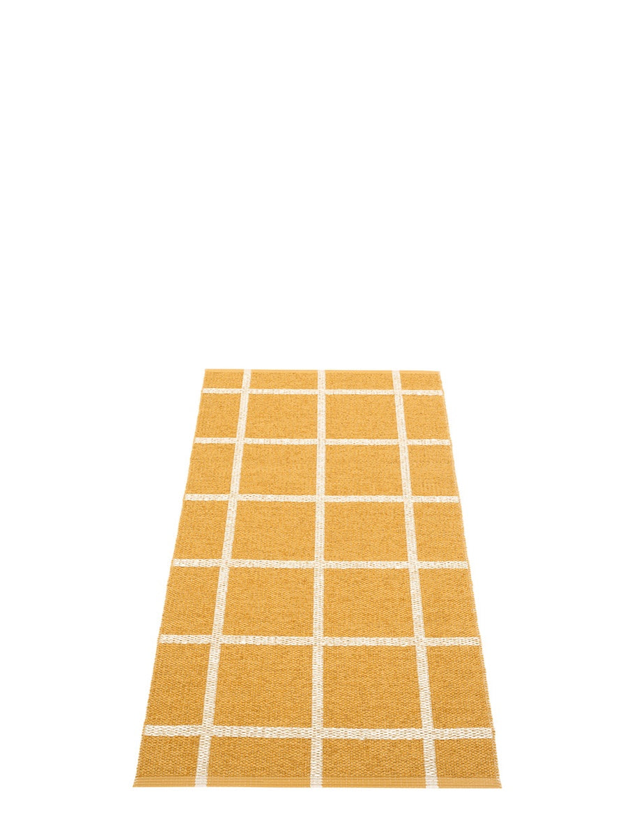 Pappelina Ada Ochre Runner Rug - Cloudberry Living