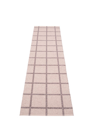 Pappelina Ada Pale Rose Runner Rug - Cloudberry Living