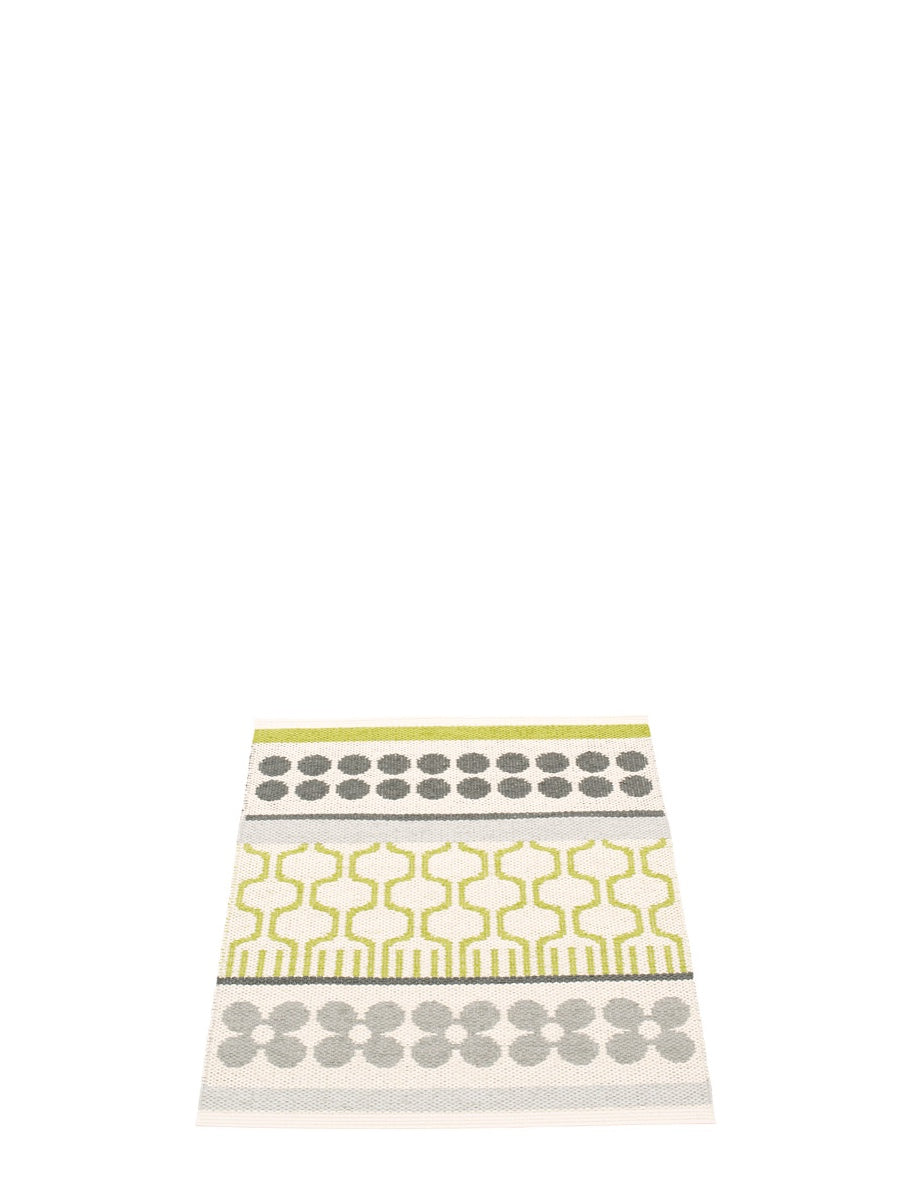 Pappelina Asta Runner Rug Lime - Cloudberry Living