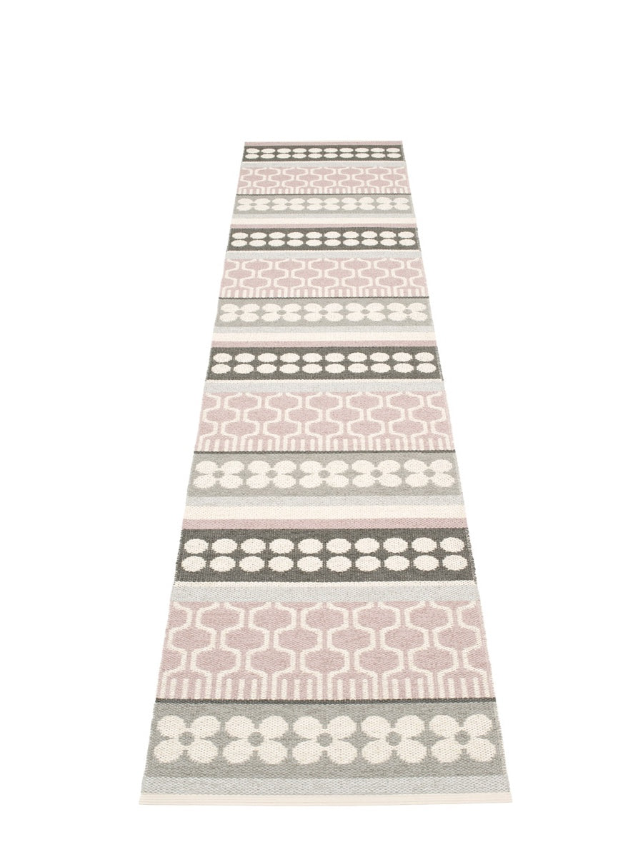 Pappelina Asta Runner Rug Pale Rose - Cloudberry Living