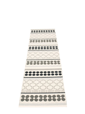 Pappelina Asta Runner Rug Warm Grey - Cloudberry Living