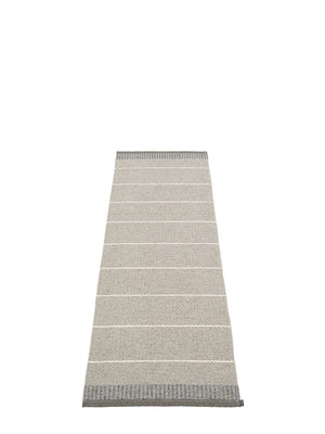 Pappelina Belle Runner Rug Concrete - Cloudberry Living