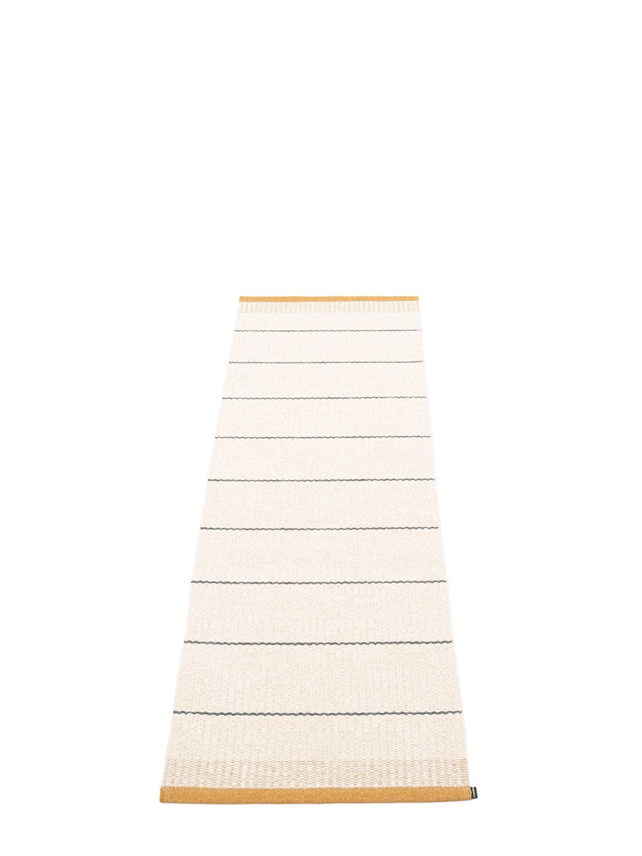 Pappelina Belle Runner Rug Ochre - Cloudberry Living