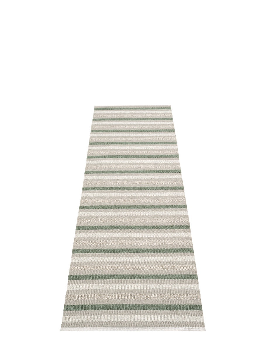 Pappelina Grace Warm Grey Runner Rug - Cloudberry Living