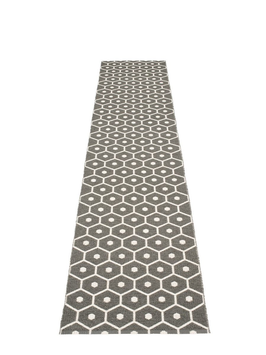 Pappelina Honey Charcoal Runner Rug - Cloudberry Living