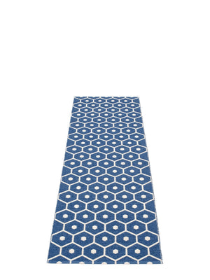 Pappelina Honey Denim Runner Rug - Cloudberry Living