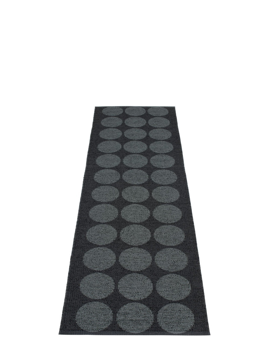 Pappelina Hugo Black Runner Rug - Cloudberry Living