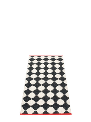 Pappelina Marre Black Runner Rug - Cloudberry Living