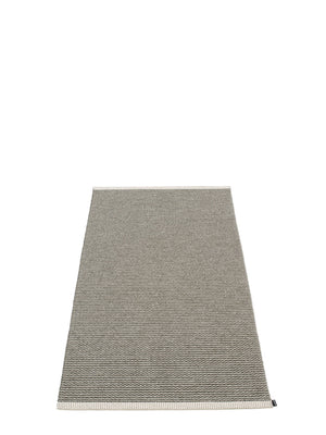 Pappelina Mono Charcoal Runner Rug - Cloudberry Living