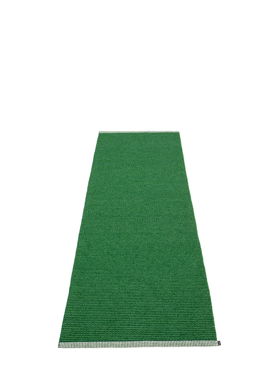 Pappelina Mono Dark Green Runner Rug - Cloudberry Living