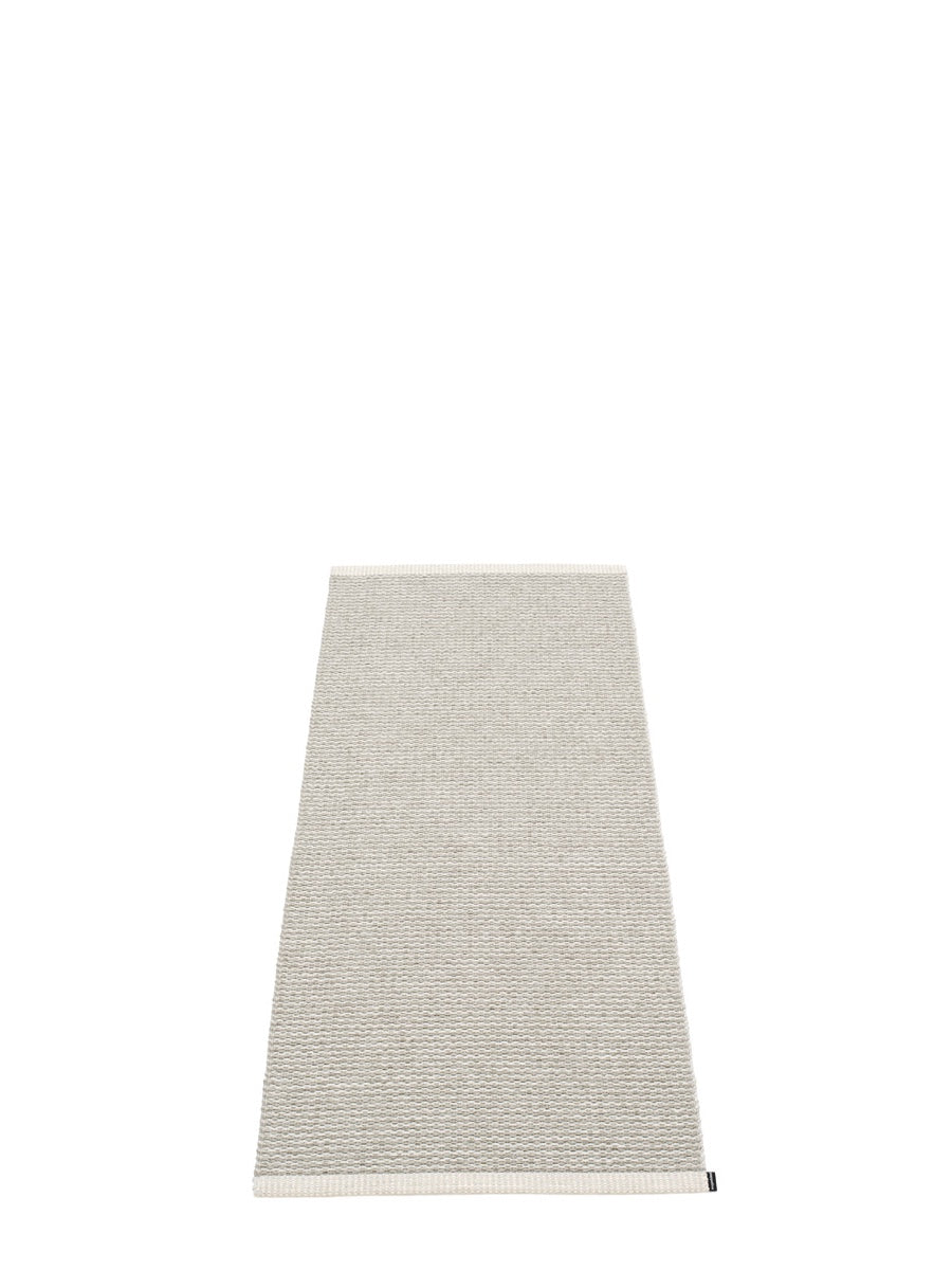 Pappelina Mono Fossil Grey Runner Rug - Cloudberry Living