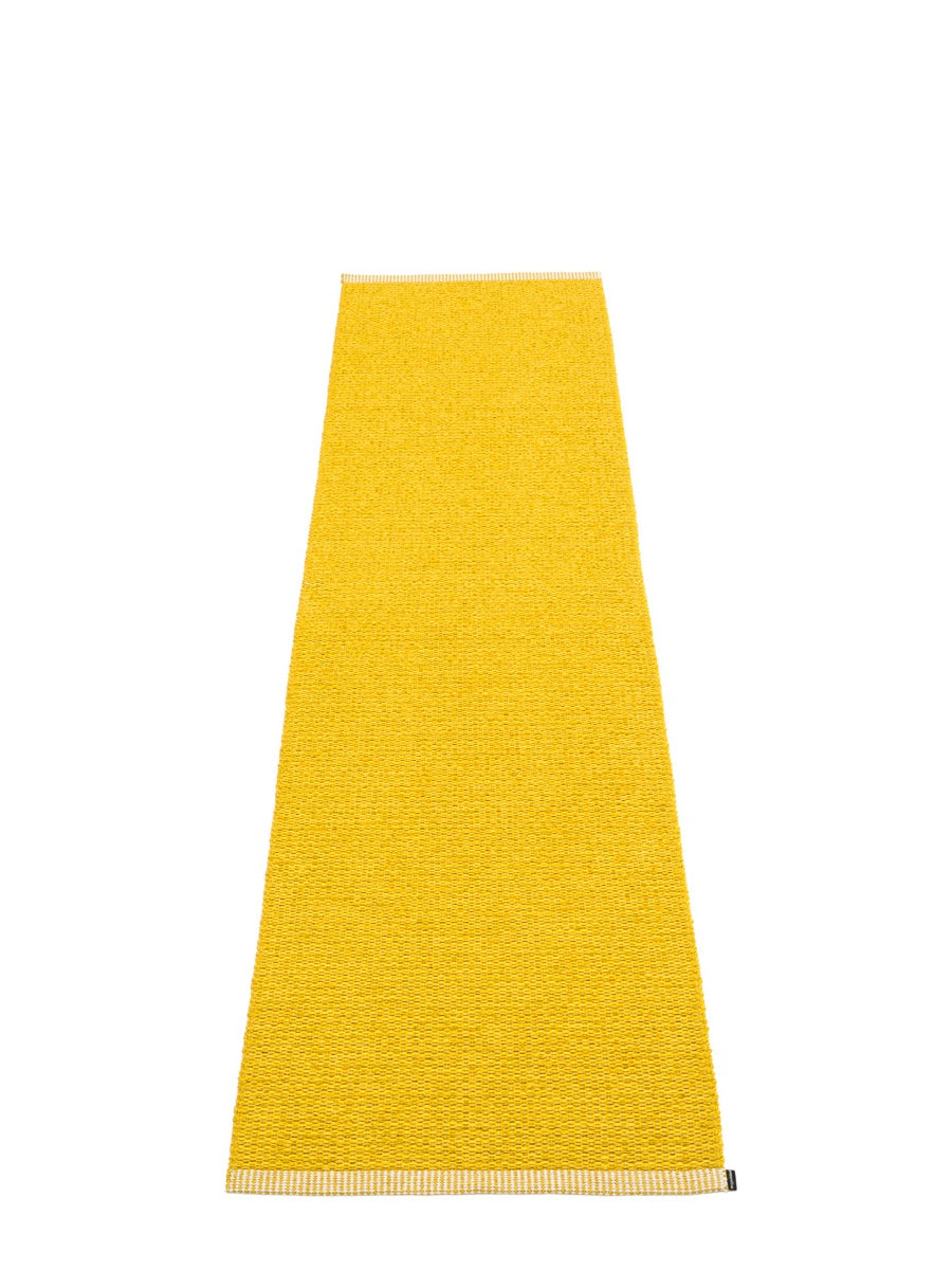 Pappelina Mono Mustard Runner Rug - Cloudberry Living