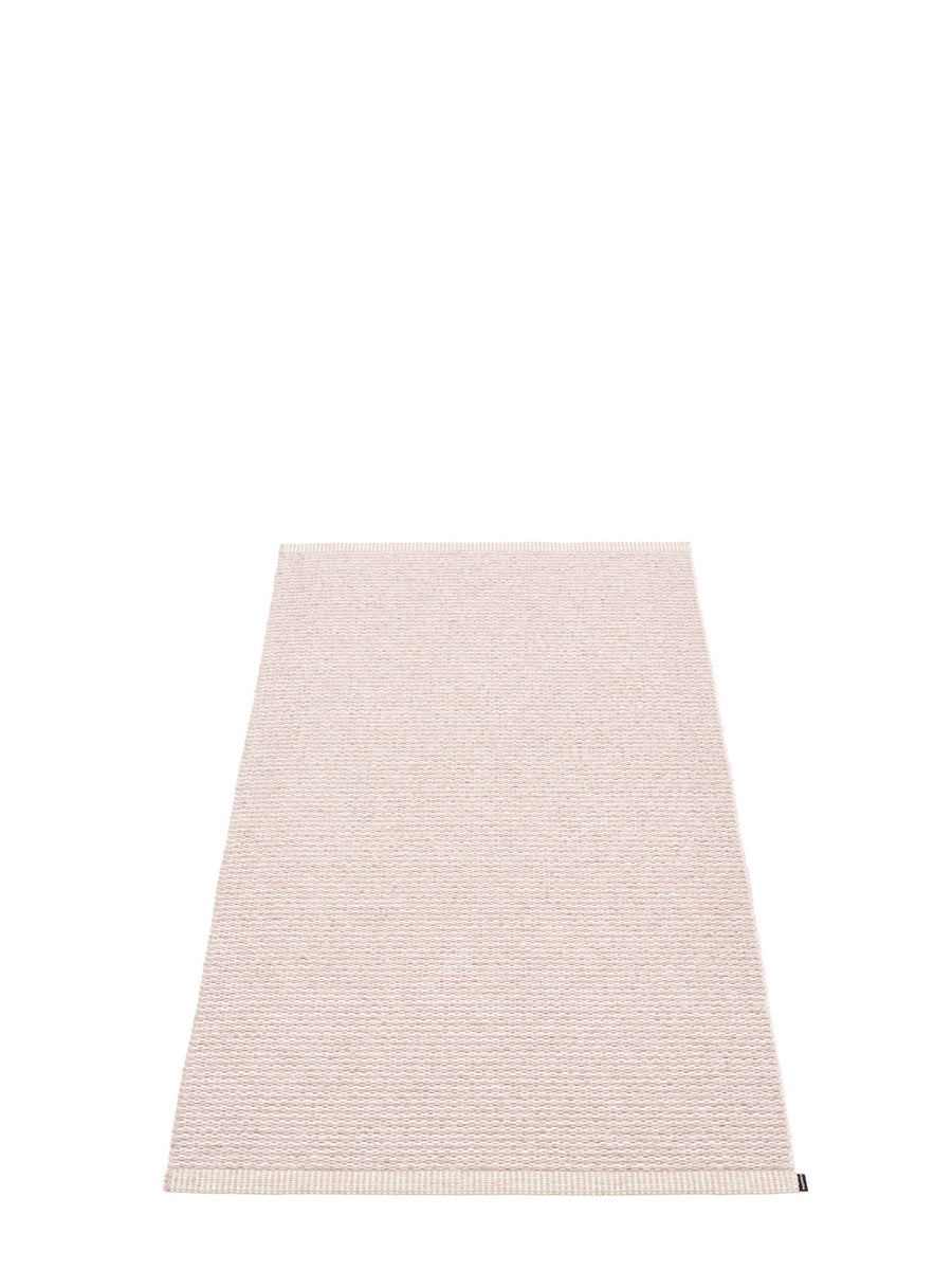 Pappelina Mono Pale Rose Runner Rug - Cloudberry Living