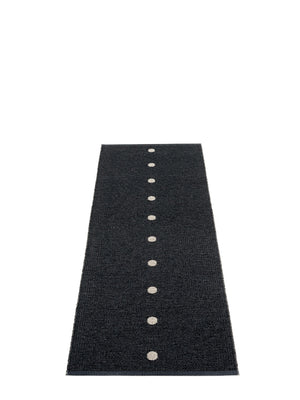 Pappelina Peg Black Runner Rug - Cloudberry Living