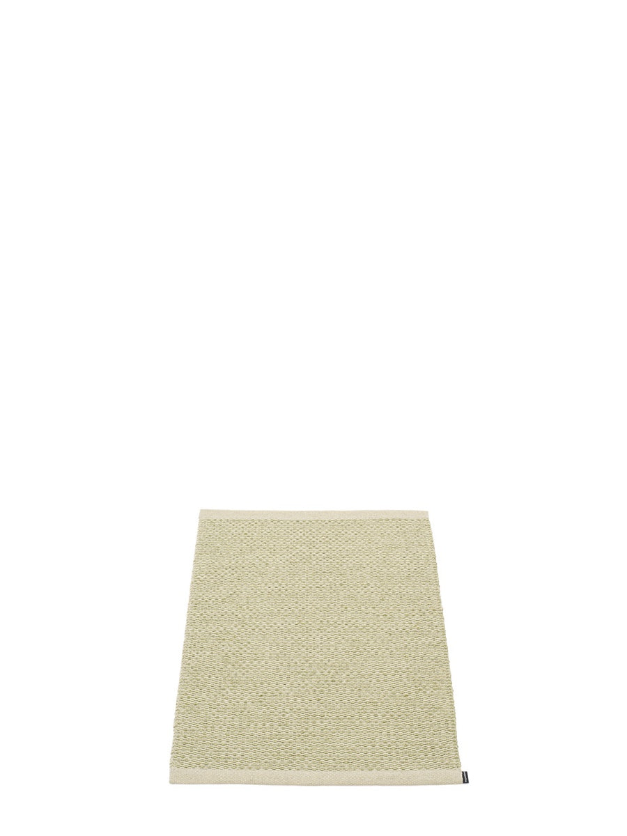 Pappelina Svea Olive Metallic Runner Rug - Cloudberry Living