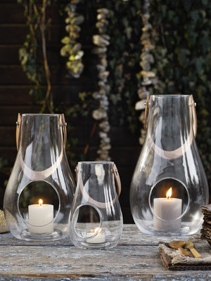 Holmegaard, Design With Light, Lantern Clear 16 cm - Cloudberry Living