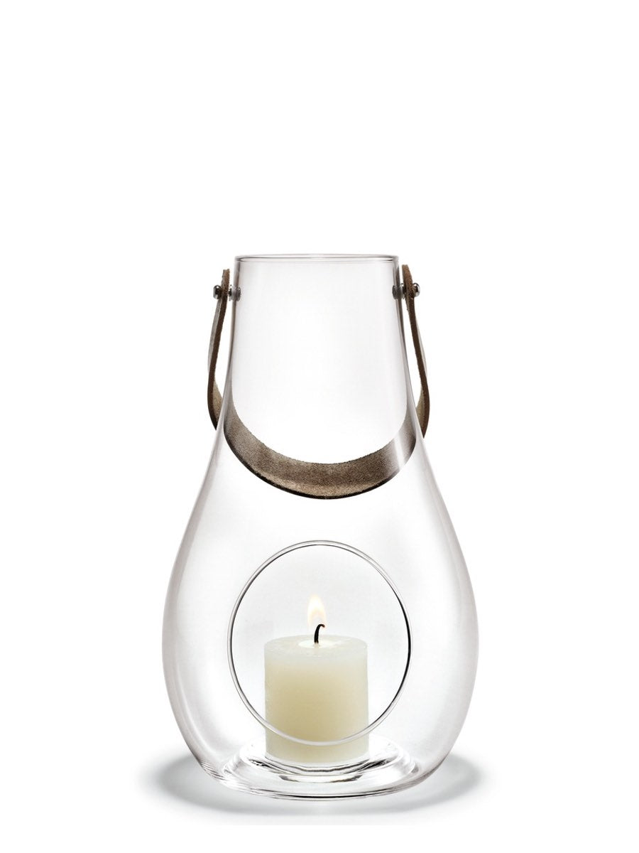Holmegaard, Design With Light, Lantern Clear 25 cm - Cloudberry Living