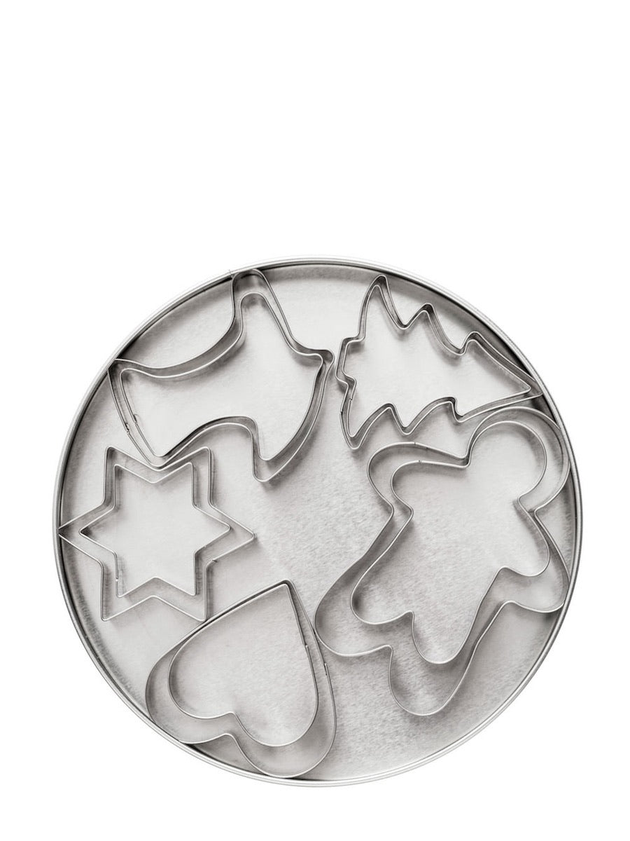 Sagaform Christmas Cookie Cutters Set of 10 - Cloudberry Living