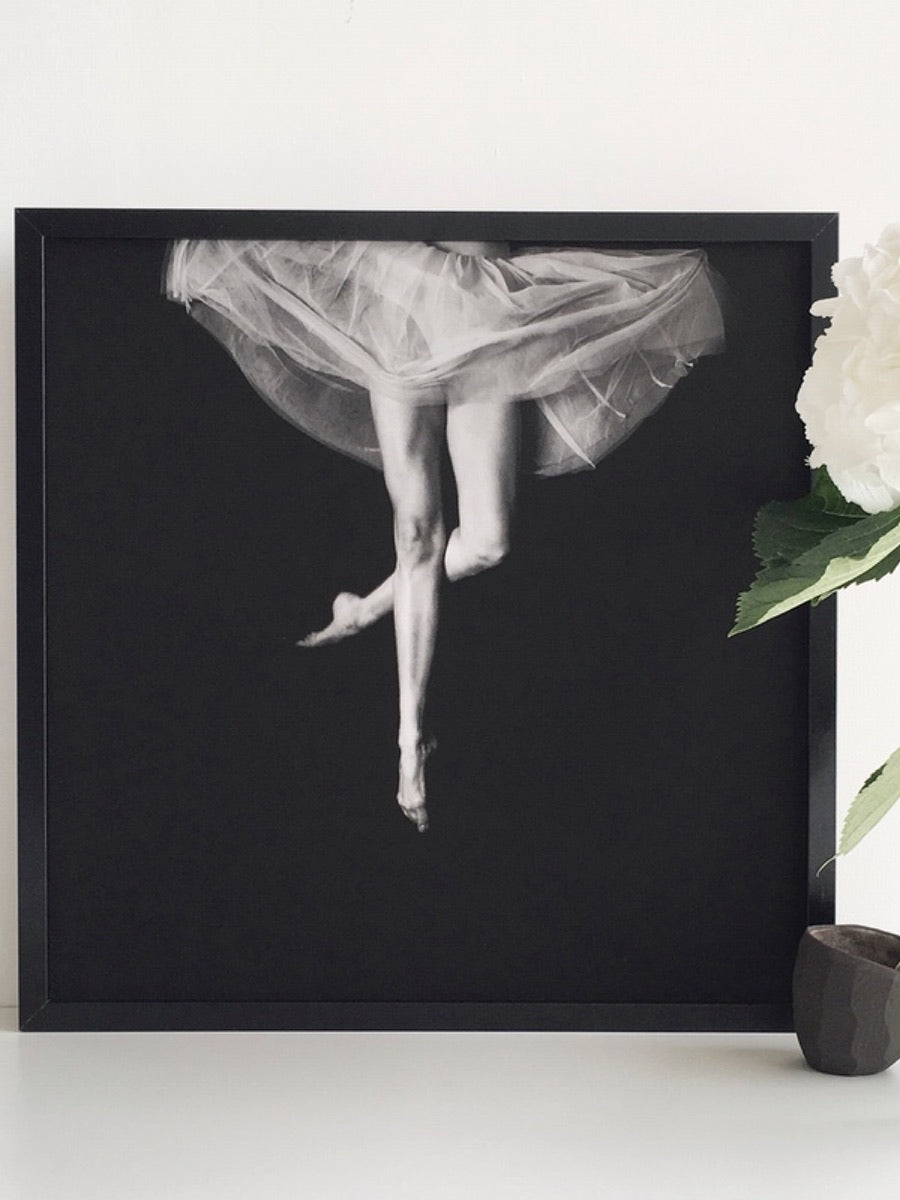 Ballet Jump Art Print Poster - Cloudberry Living