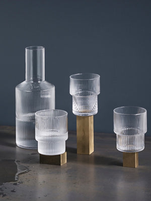 Ferm Living Ripple Carafe - Cloudberry Living