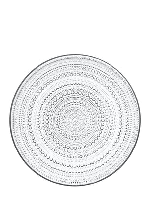 Iittala Kastehelmi Glass Serving Plate - Cloudberry Living