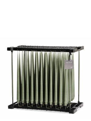 Ester & Erik Army Green Tapered Candle (70) - Cloudberry Living
