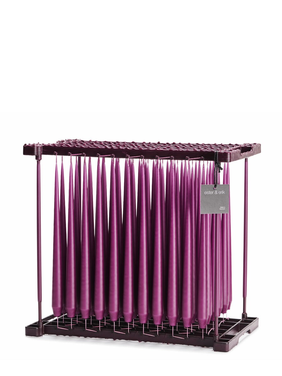 Ester & Erik Heather Purple Tapered Candle (46) - Cloudberry Living