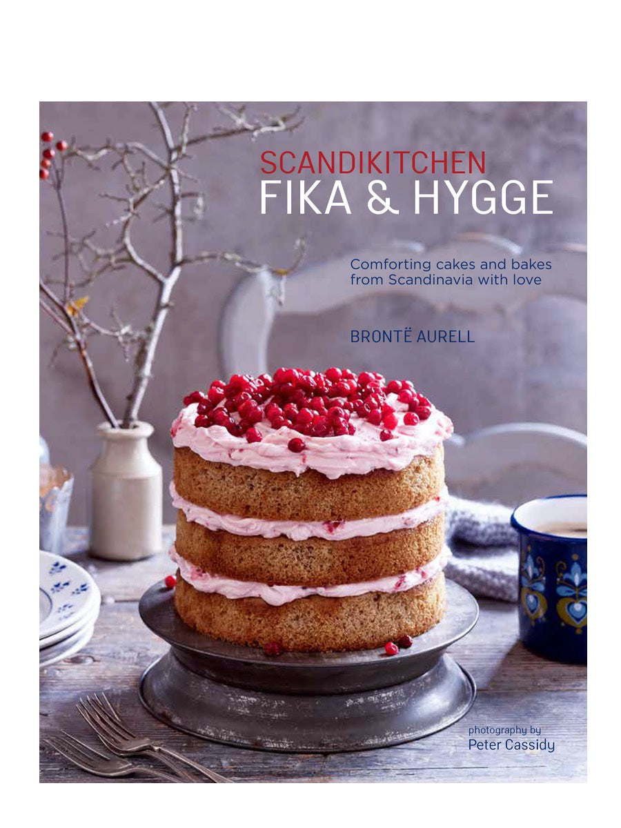 Scandikitchen Fika & Hygge By Brontë Aurell Book - Cloudberry Living