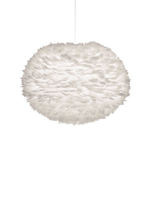 Umage Eos White Feather Lampshade - Cloudberry Living