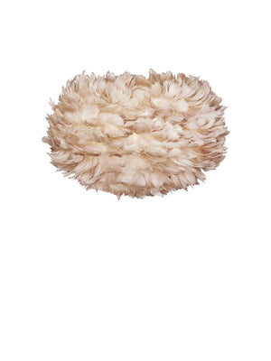 Umage Eos Light Brown Feather Lampshade - Cloudberry Living