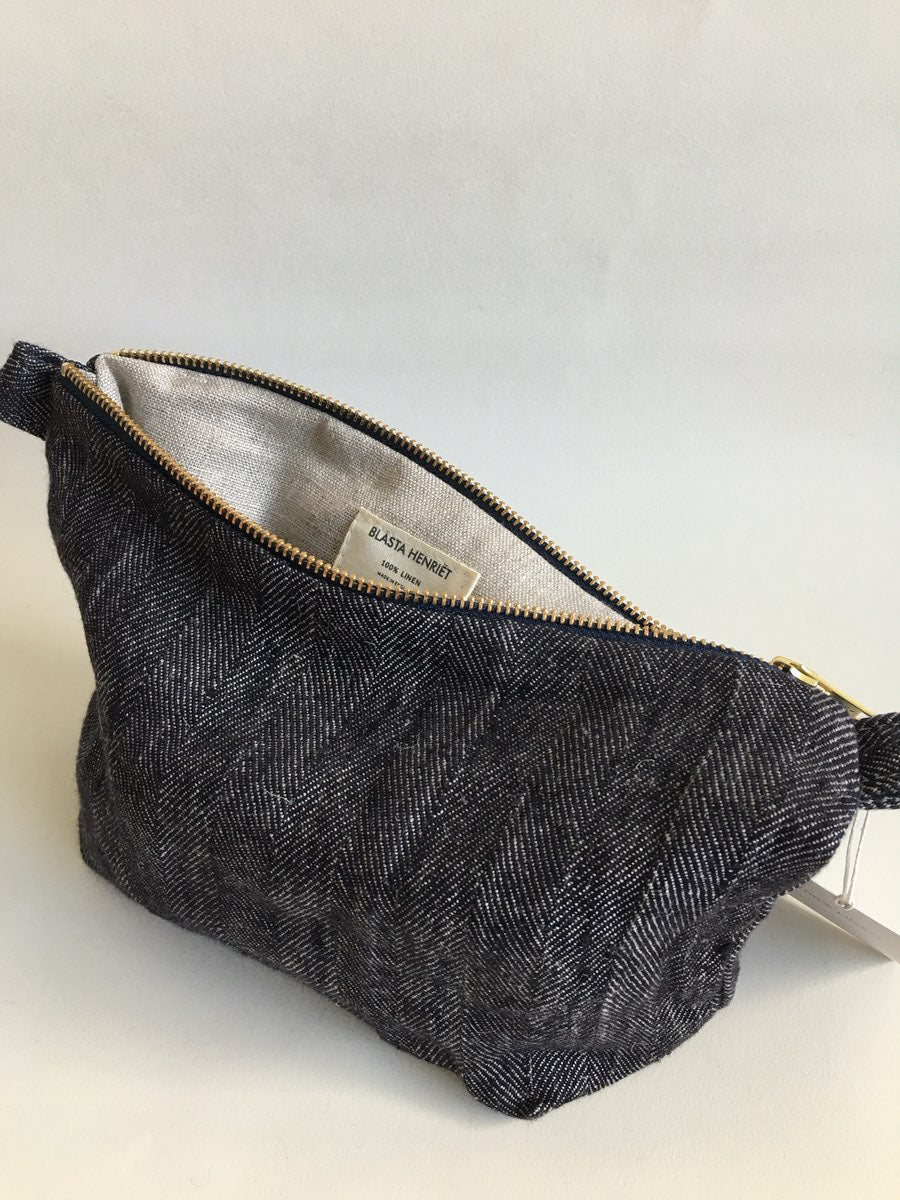 Blästa Henriët Large Wash Bag Herringbone - Cloudberry Living