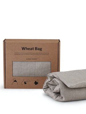 Blästa Henriët Wheat Bag Plain Linen - Cloudberry Living