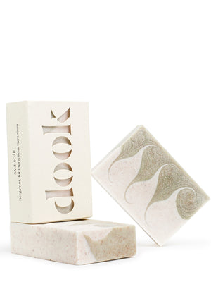Dook Aromatherapy Salt Soap Bergamot Juniper & Rose Geranium - Cloudberry Living
