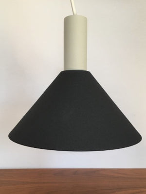 Ferm LIVING Collect Black Cone Shade and Light Grey Low Socket - Cloudberry Living