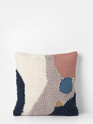 Ferm Living Mirage Cushion Loop Landscape - Cloudberry Living