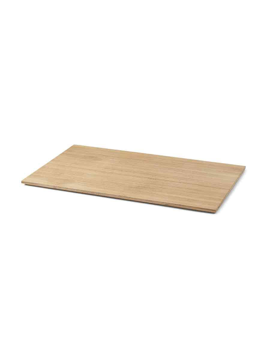 Ferm Living Wood Tray For Plant Box Large - Cloudberry Living