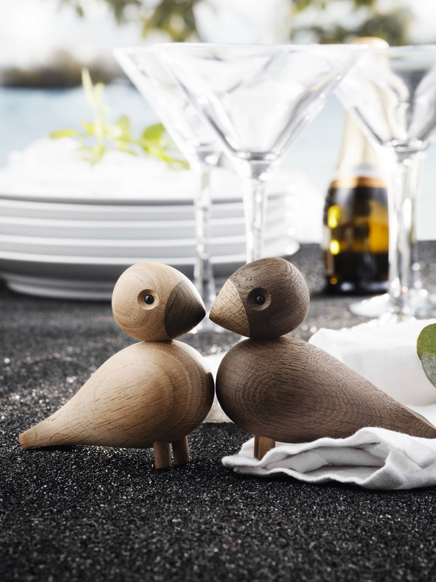 Kay Bojesen Wooden Lovebirds - Cloudberry Living