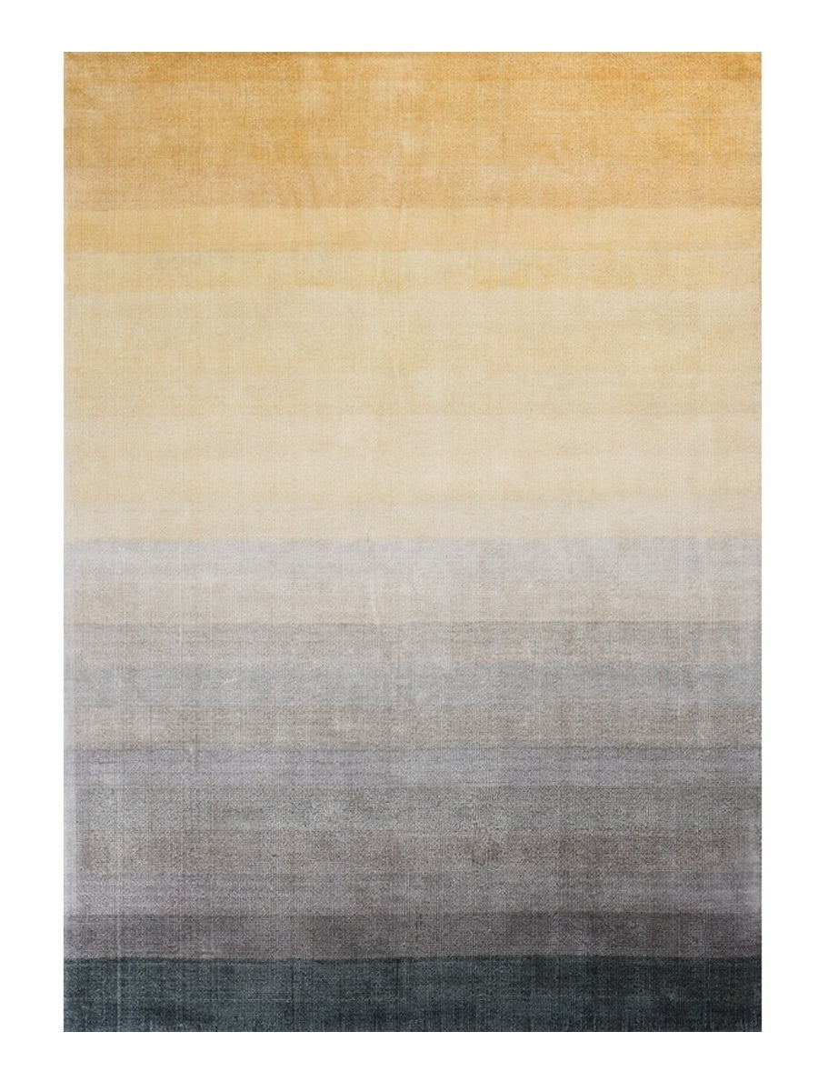 Linie Design Combination Rug Yellow - Cloudberry Living