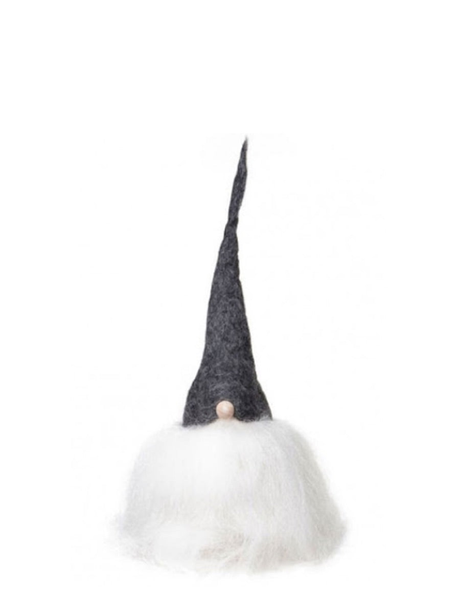 Christmas Tomte Small Grey Cap White Hair - Cloudberry Living