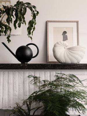 Ferm Living Orb Watering Can Black - Cloudberry Living