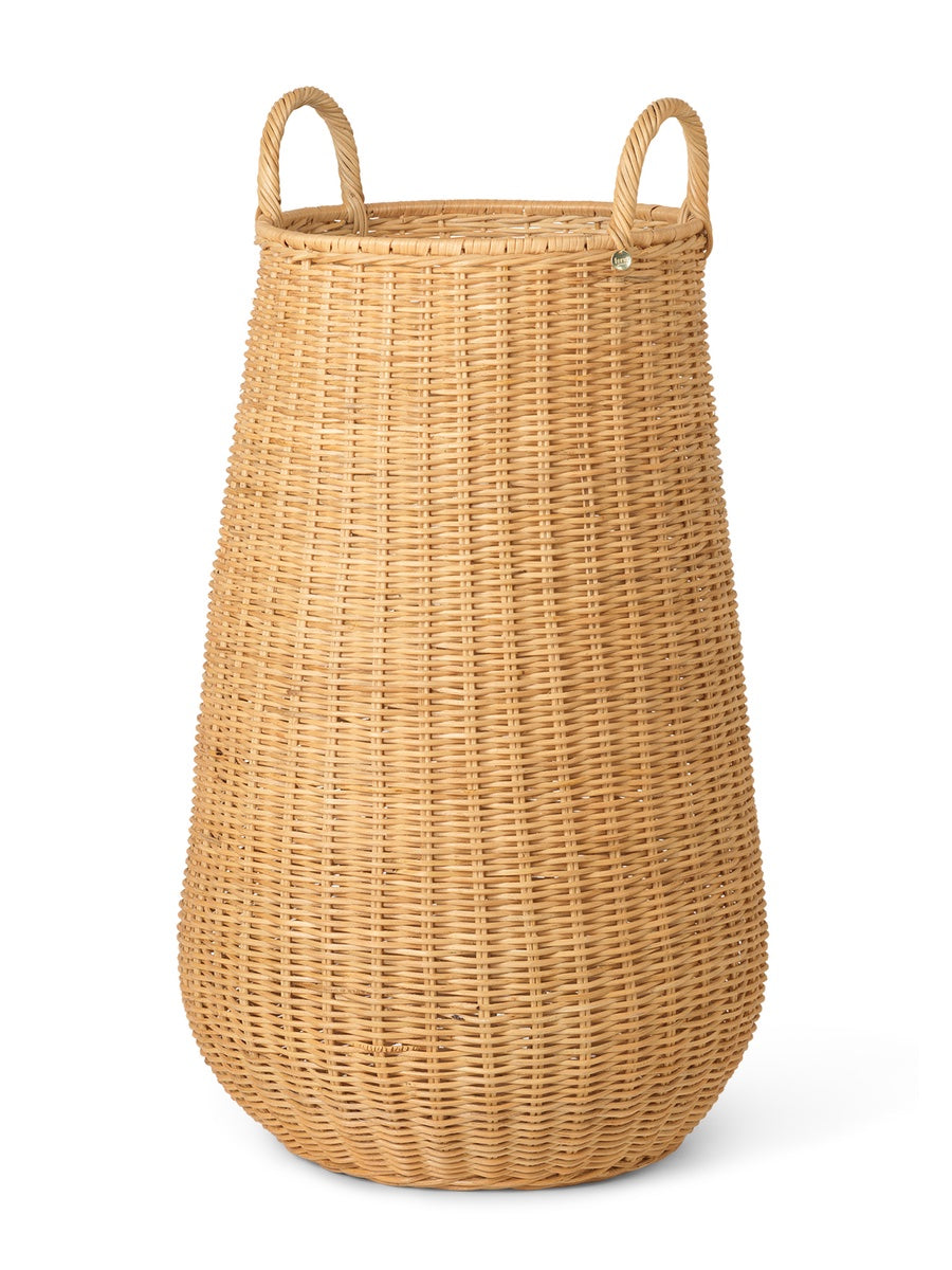 Ferm Living Braided Laundry Basket - Cloudberry Living
