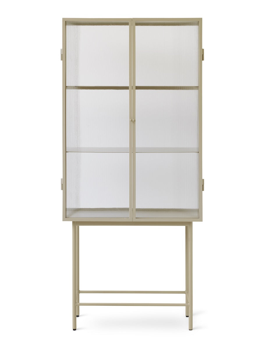 Ferm Living Haze Vitrine Reeded Glass - Cloudberry Living