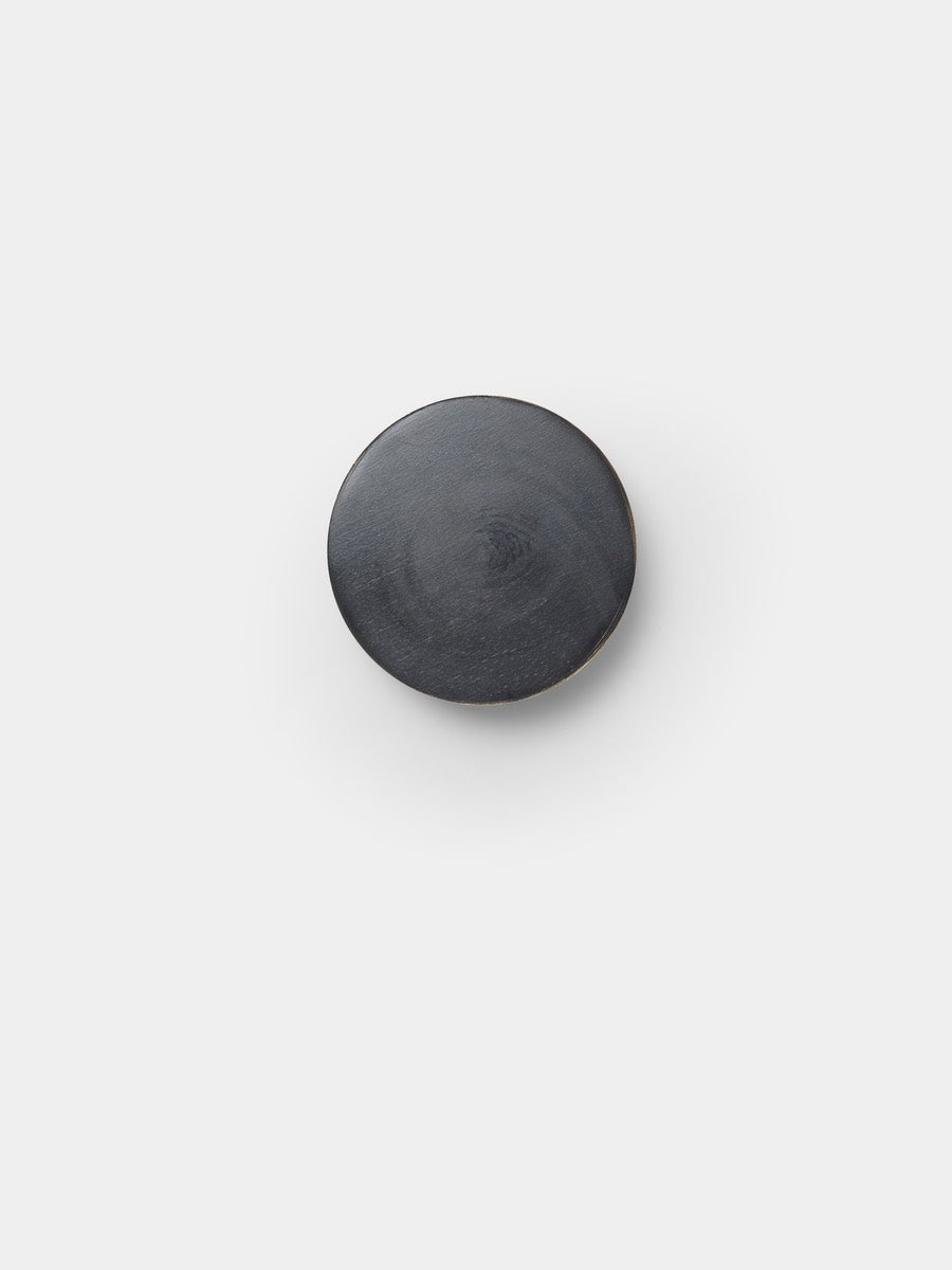 Ferm Living Hook Black Brass Small - Cloudberry Living