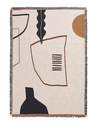 Ferm Living Mirage Blanket - Cloudberry Living