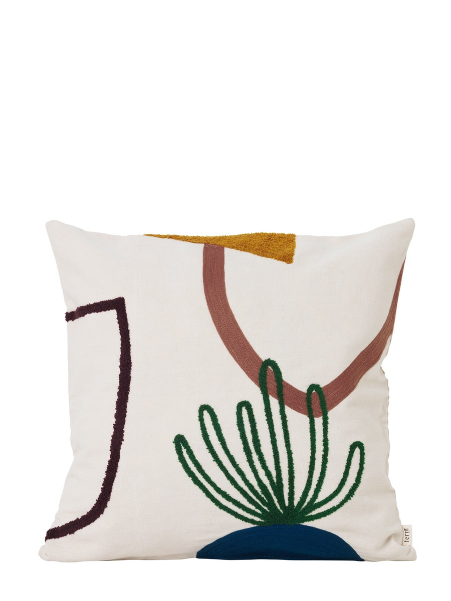 Ferm Living Mirage Cushion Island - Cloudberry Living