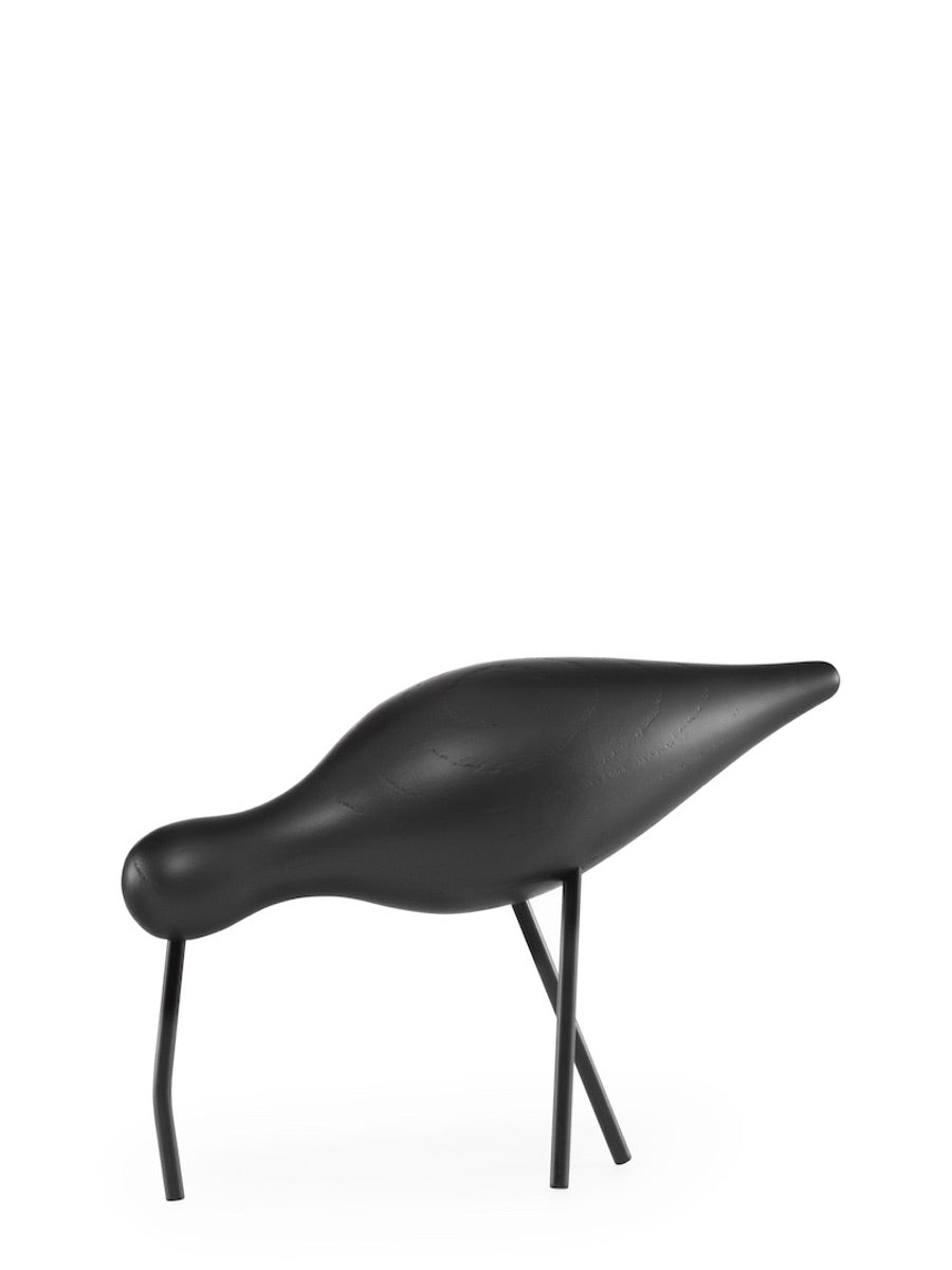 Normann Copenhagen Large Shorebird Black - Cloudberry Living